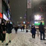紐約迎2020年首場大雪