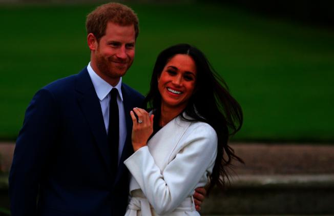 英國王室最新聲明指出,哈利王子與妻子梅根將失去殿下頭銜。(Getty Images)
