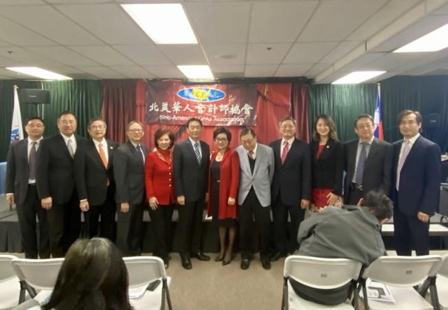 北美華人會計師協會2020年新稅法講座。(記者尚穎╱攝影)