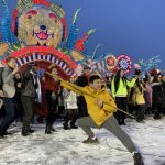 Hello Panda Festival千人快閃 為2022北京冬奧造勢