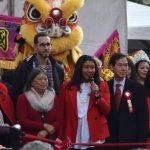 農曆新年慶會 華埠花市迎春