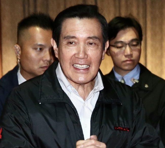 前總統馬英九18日表示,「九二共識」一定要是台灣與大陸的共識,「北京不同意,要和誰『共』呢?」(記者林俊良/攝影)