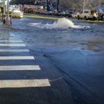 曼哈頓上西城水管破裂 多線地鐵暫停服務