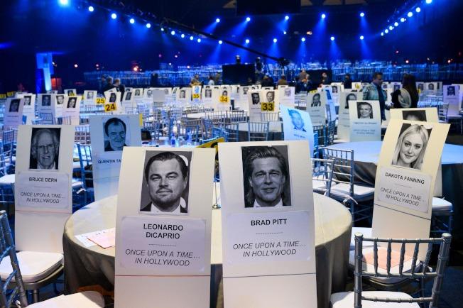 美國演員工會獎(SAG)19日舉行。(Getty Images)
