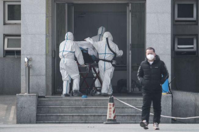 武漢市衛生健康委員會通報肺炎病例第四死。歐新社
