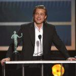 布萊德彼特獲演員工會獎最佳男配角調侃自己單身