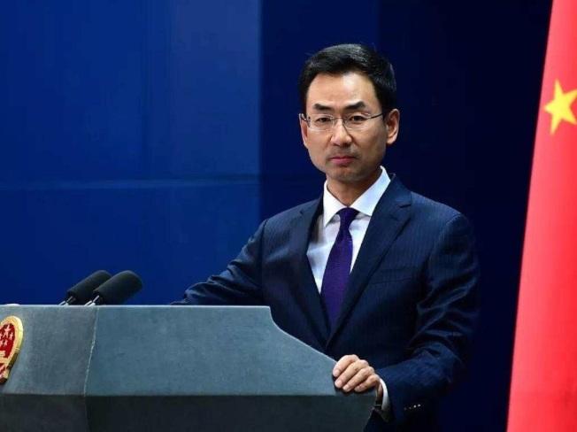 中國外交部發言人耿爽。圖/人民日報客戶端