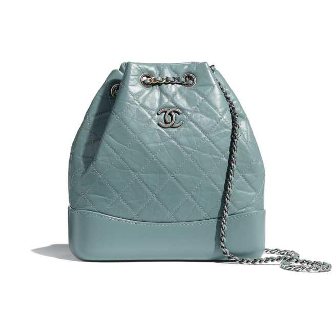 Chanel Gabrielle小型後背包。圖/摘自官網