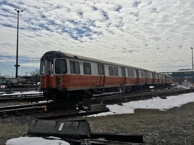 MBTA拍賣七輛老式地鐵車輛,為數百輛即將到貨的新車輛騰出位置。(記者劉晨懿之╱攝影)
