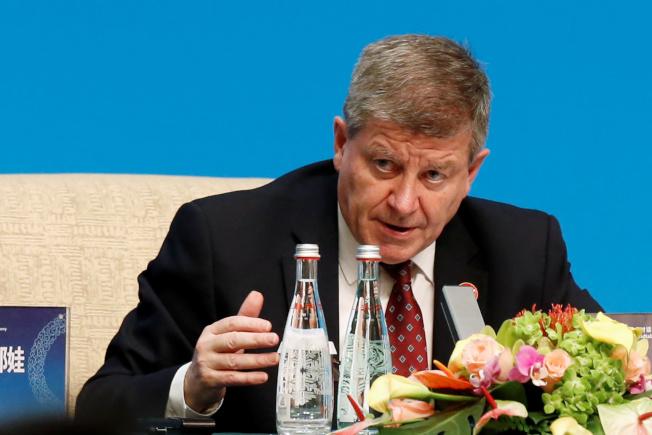 圖為國際勞工組織(ILO)秘書長賴德(Guy Ryder)。(路透社)