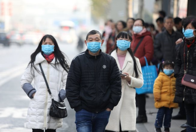 中國武漢肺炎疫情持續延燒。圖/歐新社