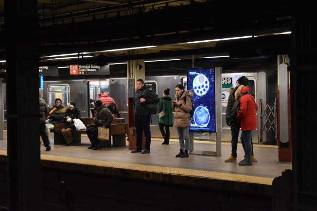 「分流方案」旨在重視在地鐵站外內發生的大小違規行為,以降低犯罪率。(記者顏嘉瑩/攝影)