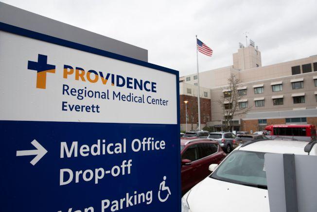 美國出現首例新型冠狀病毒確診病例,已送往華盛頓州地區醫療中心隔離治療。(Getty Images)