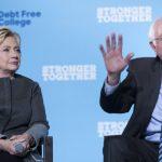 喜萊莉.柯林頓批桑德斯政客 「沒人喜歡他」拒承諾支持