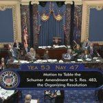 彈劾案審理規則激辯 民主黨提案屢遭否決