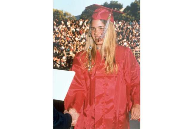 1996年5月25日失蹤的CalPoly女生克莉絲汀(Kristin Smart),失蹤23年之後,現在才有新發現。(美聯社)