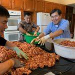 華人年夜飯 自製香腸慰鄉思