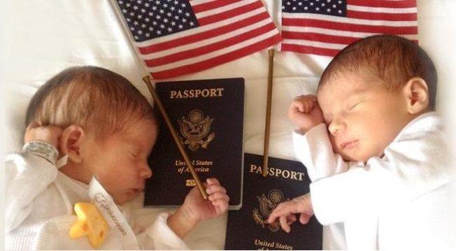川普政府23日將公布旨在防止外籍婦女來美「生育旅遊」以生下美國公民寶寶的簽證新規,並於24日生效上路。(取自推特)