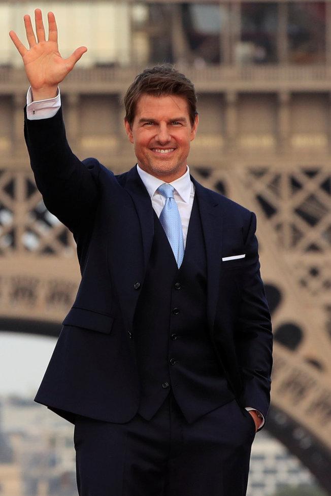 湯姆克魯斯被指有可能和英皇室話題焦點人物合作。圖/路透資料照片