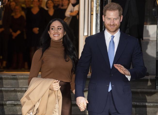 梅根與哈利王子未來自力更生的「錢」途還是頗受看好。圖/歐新社資料照片