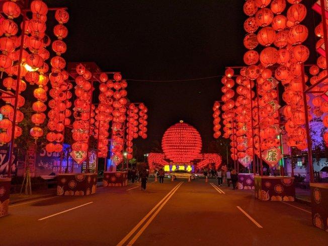 喜氣洋洋迎接新年到來。圖/宜蘭羅東鎮公所提供