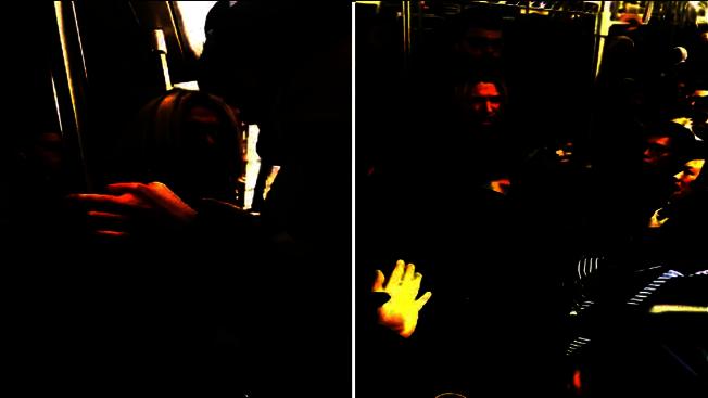 Anna Lushchinskaya在地鐵上攻擊一名華裔女乘客,並以種族歧視言論辱罵。(本報檔案照)