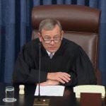 彈劾案辯論 兩黨惡言互攻 大法官訓斥要注意禮儀