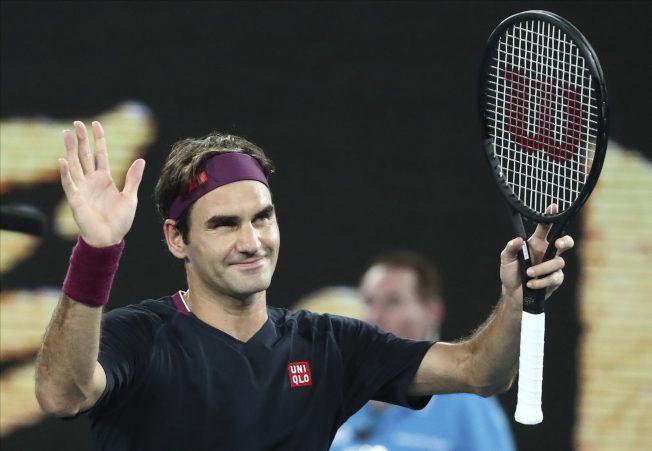 澳網╱費德勒直落三晉級 澳網百勝只差一步