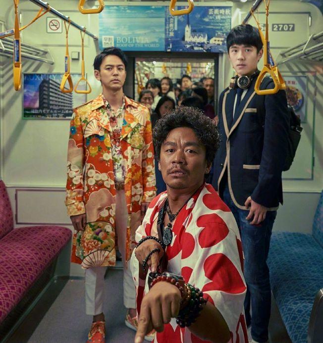 《唐人街探案3》、《奪冠》、《急先鋒》都是春節檔熱門電影。(取材自微博)