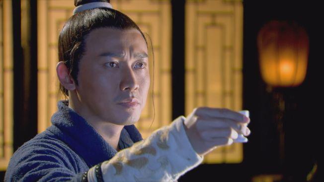 聶遠在「龍門飛甲」中飾演劇中武功高強的黃河大俠趙懷安。(圖:中天綜合台提供)