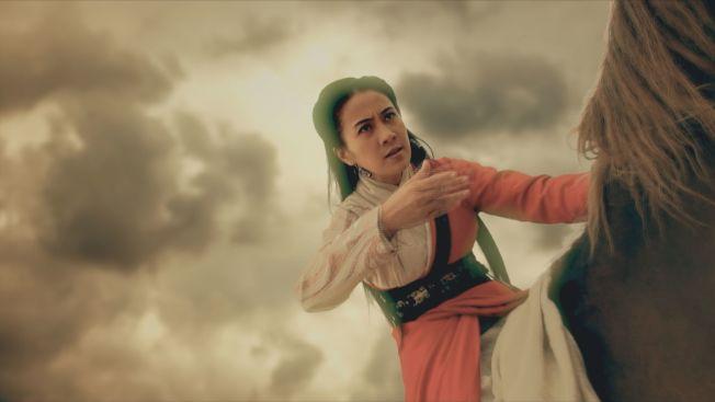 古典美人葉璇在「龍門飛甲」中飾演金鑲玉。(圖:中天綜合台提供)
