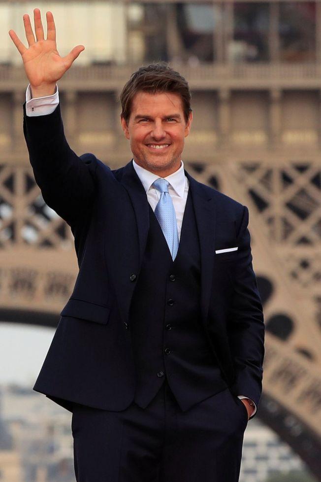 湯姆克魯斯被指有可能和英王室話題焦點人物合作。(路透資料照片)