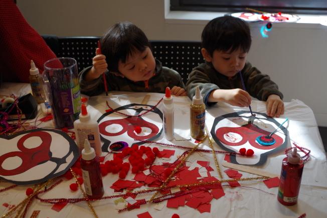 美華協進社慶祝農曆新年。(本報檔案照)