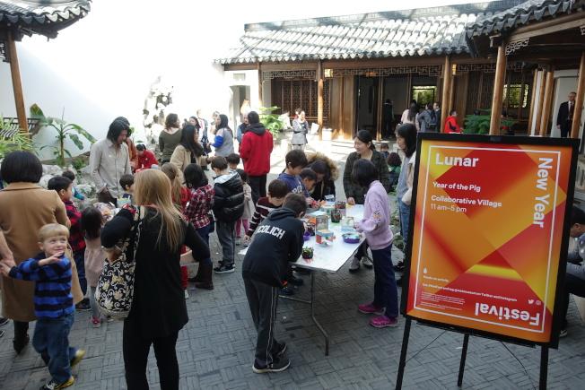 大都會藝術博物館慶祝農曆新年。(本報檔案照)