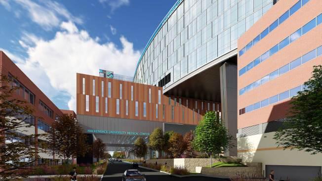 哈肯薩克大學醫療中心。(取自官網)