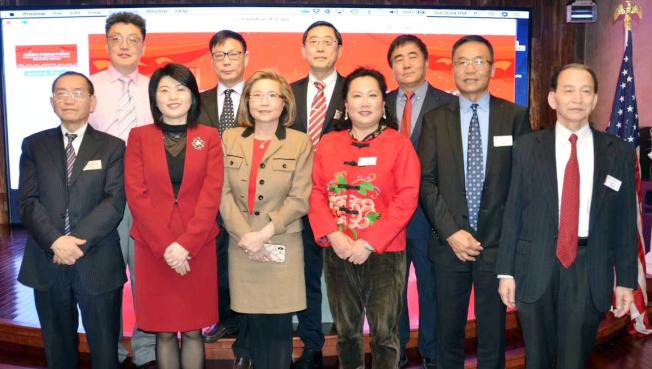 選舉出爐的新一屆亞特蘭大中國商會理事。(中國商會提供)