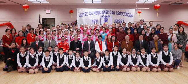 新澤西華人聯合總會迎新春晚會。(記者謝哲澍╱攝影)