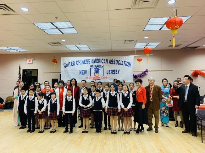 新澤西華人聯合總會迎新春晚會。(記者謝哲澍/攝影)