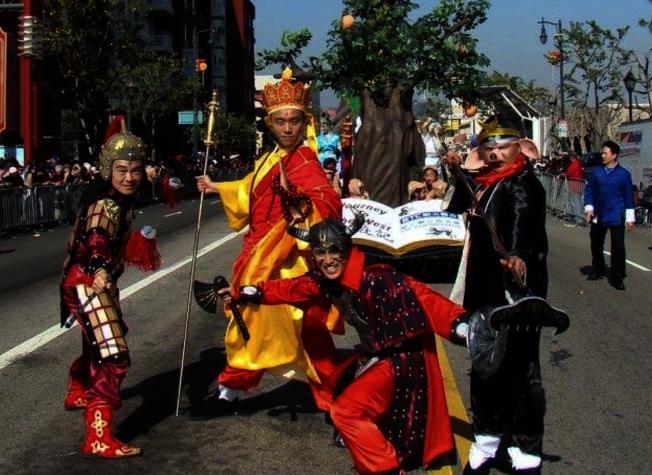 華埠金龍大遊行是洛杉磯最歷史悠久的傳統農曆新年慶典,將於2月1日盛大舉行。(金龍大遊行官網)