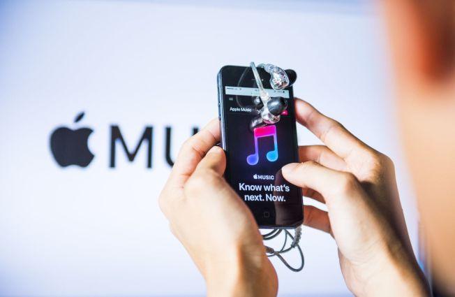 蘋果去年夏季宣稱旗下Apple Music的訂閱戶數達6000萬人。(Getty Images)