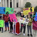 史上第一位! 川普參加反墮胎遊行
