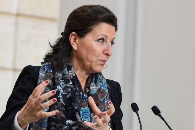 法國有兩人確診感染新型冠狀病毒。圖為法國衛生部長布辛。(Getty Images)