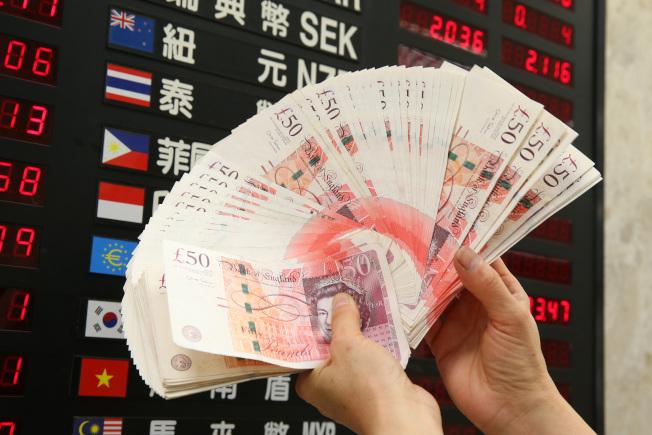 市場看好今年將有大量資金流入英鎊資產,有助英鎊匯率上揚。(本報資料照片)