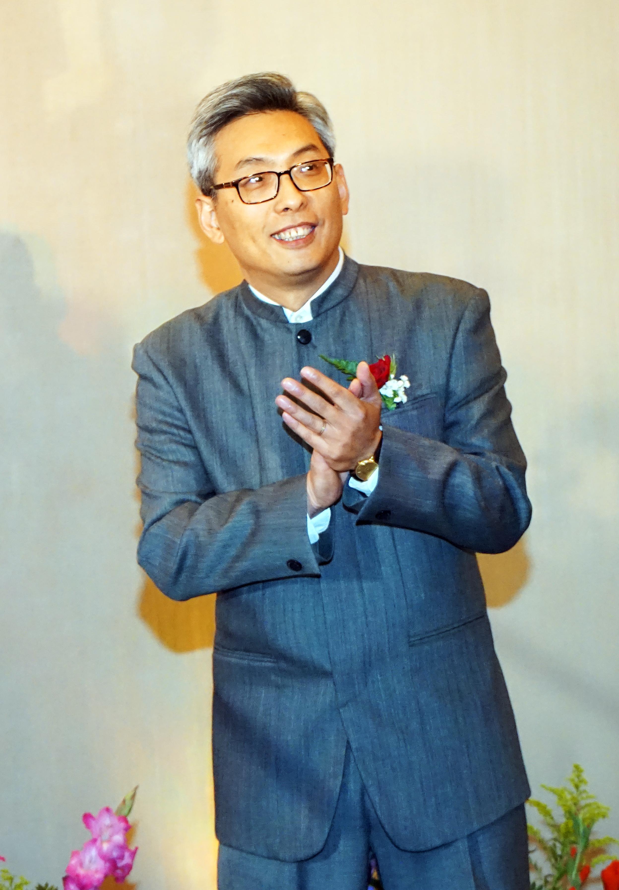 中國駐休士頓總領事蔡偉。(記者賈忠/攝影)