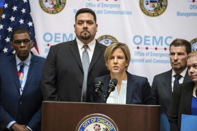伊利諾州公共衛生廳的首席醫療專家雷登說,芝加哥華裔婦人確診感染武漢肺炎,是全美第二個案例。(美聯社)