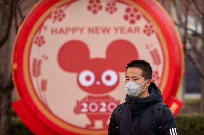 農曆鼠年,中國籠罩在武漢冠狀肺炎疫情的陰影下。(美聯社)