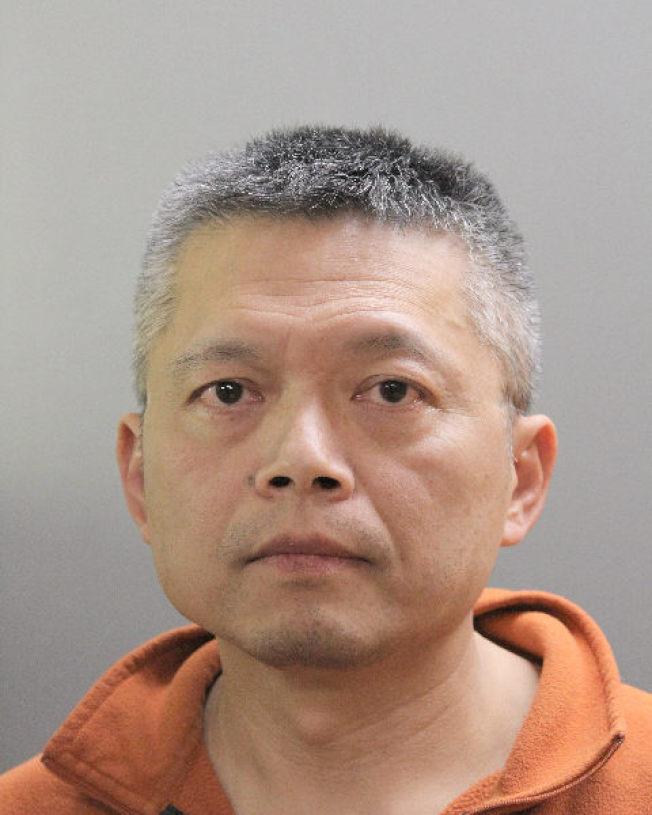 鄭超仁因涉嫌惡性酒駕被當地警方逮捕移送法辦。(納蘇郡警方提供)