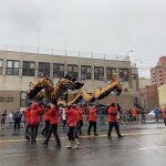 初一陰雨綿綿 肺炎疫情嚴峻 都難減民眾參加遊行熱情