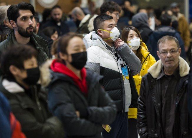 大陸武漢疫情確診病例已突破二千例。 美聯社