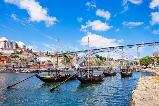 葡萄牙第二大城波多是一歷史古城,物價實惠,近年來成為人氣的歐洲旅遊城市。圖/ingimage